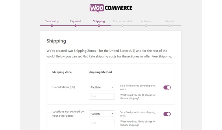 woocommerce tutorial - Setup Your Shipping Zones