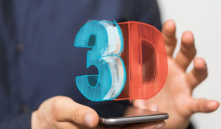 UX Design Trends - 3D design