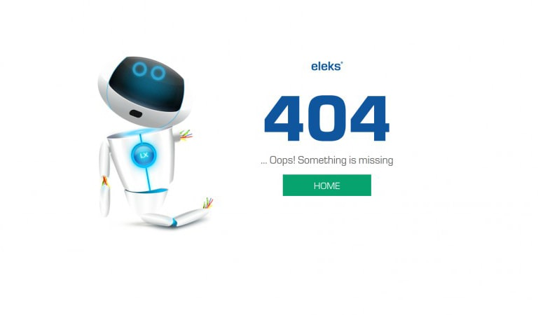 landing page - 404 error Page