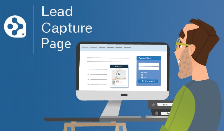 landing page - Lead Capture page