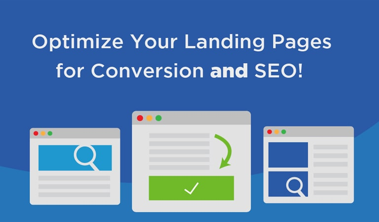 landing page - Optimize your landing page for SEO