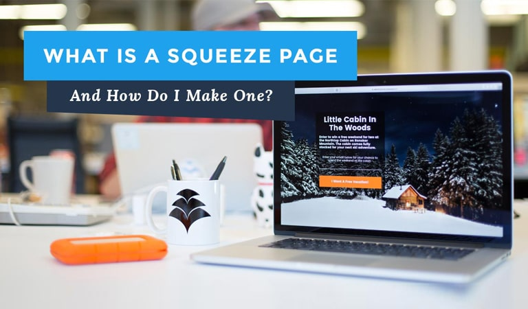 landing page - Squeeze Page