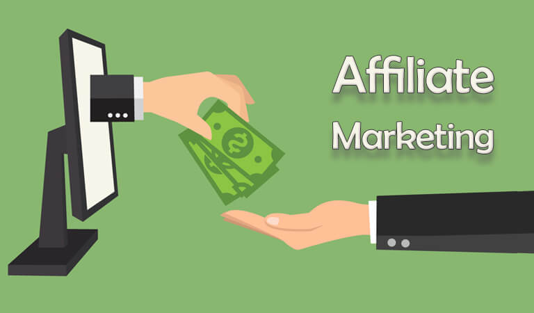 how to earn money online -Affiliate Marketing