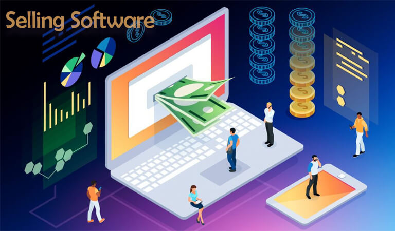 how to earn money online - Selling Software