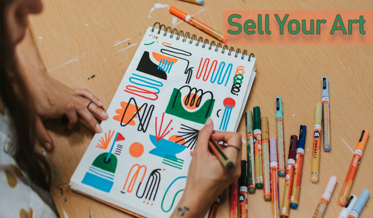how to earn money online - Sell Your Art