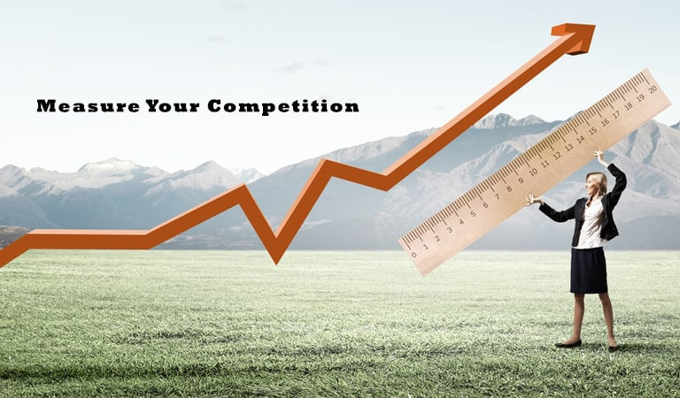 how to start an online business - Measure Your Competition
