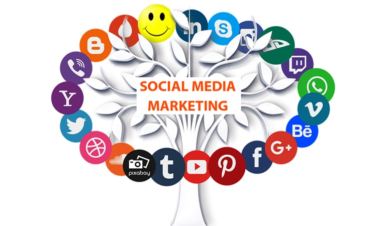 digital marketing - Social Media Marketing (SMM)