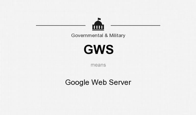 web server - GWS Web Server