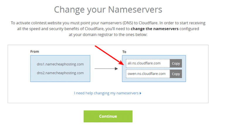 what is cloudflare - Change your nameservers to Cloudflare nameservers