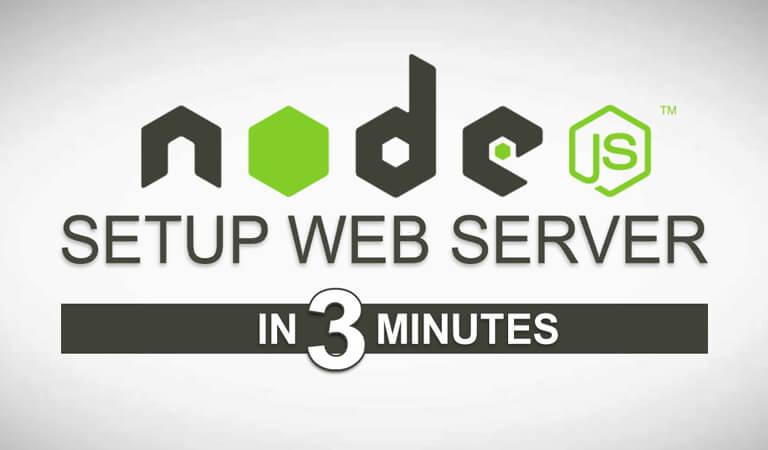 web server - Node.js Web Server