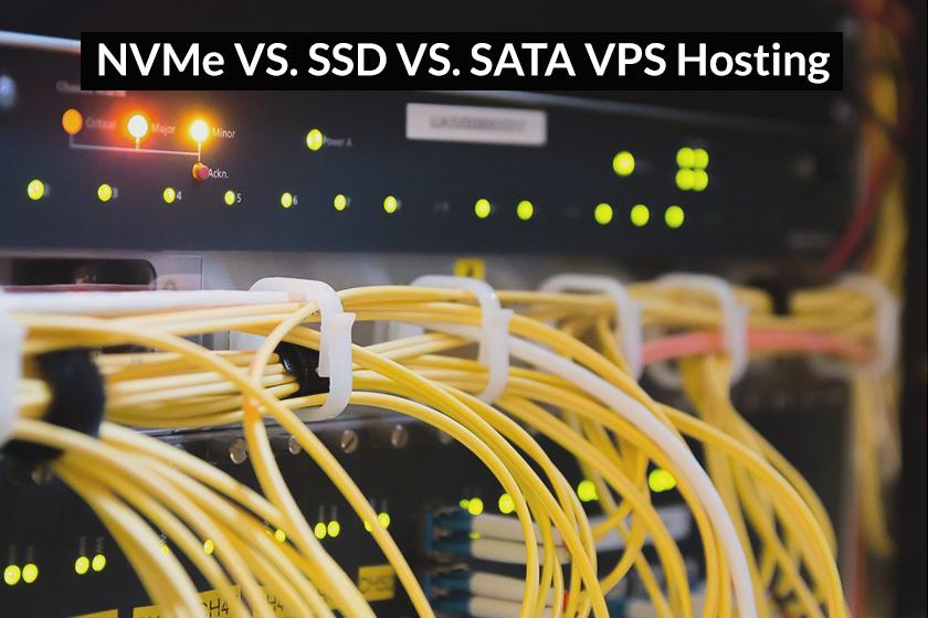 nvme vs ssd vs sata vps hosting
