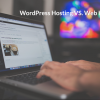 wordpress hosting vs web hosting