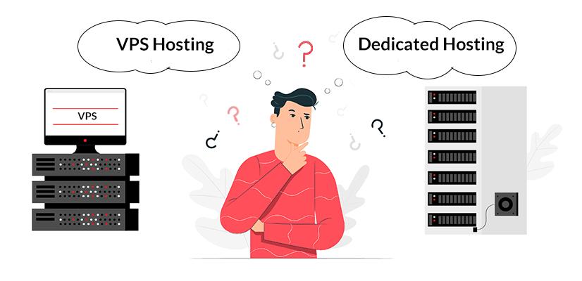dedicated hosting vs vps hosting