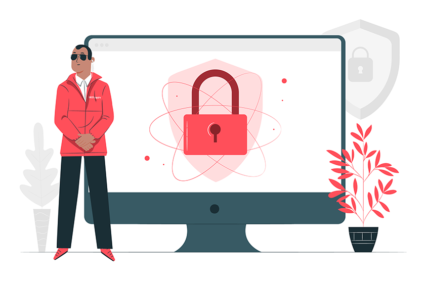 high security by dedicated hosting
