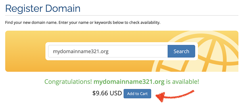 purchase your domain name
