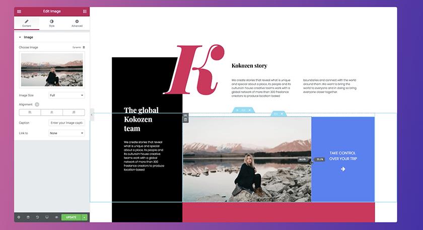 elementor wordpress website design