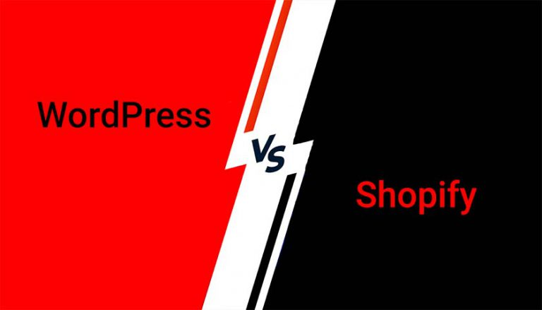 wordpress vs shopify differences and similarities