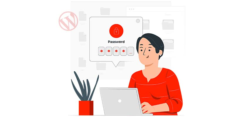 choose strong password to improve wordpress security