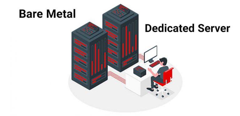 bare metal server vs dedicated server
