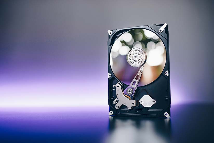 hard drive requirement minecraft server